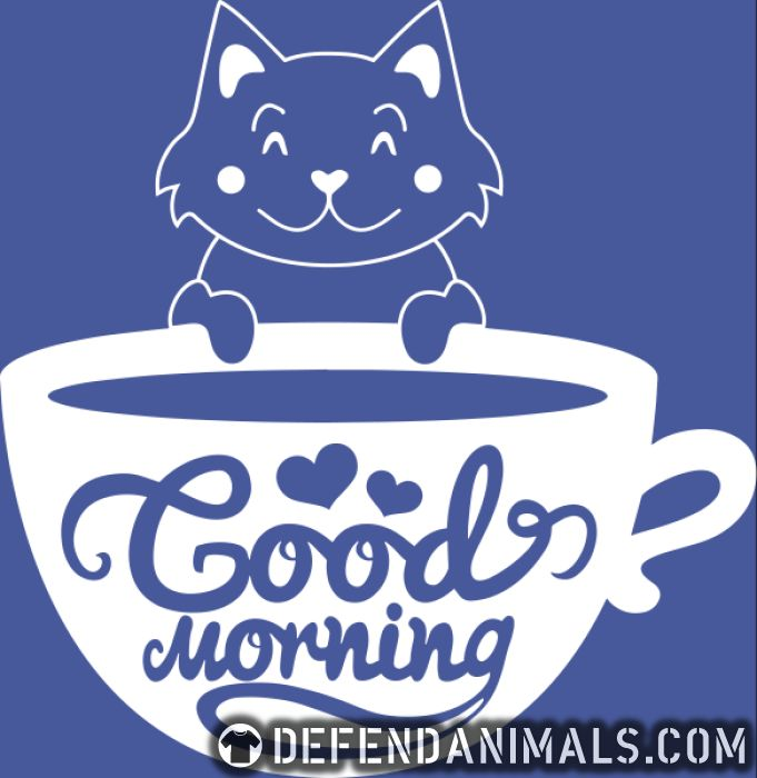 Good morning - Cats Lovers Women Organic T-shirt