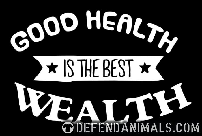 goood healty is the best wealthy - Vegan Women Organic T-shirt