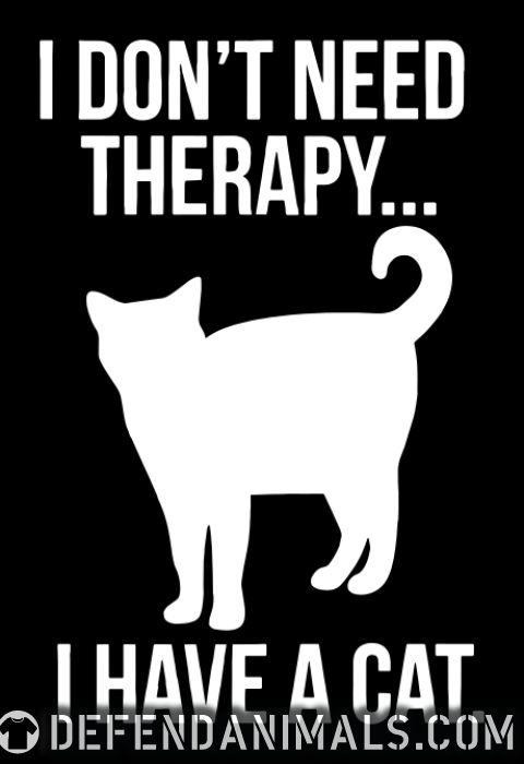 I don't need therapy...  - Cats Lovers Women Organic T-shirt