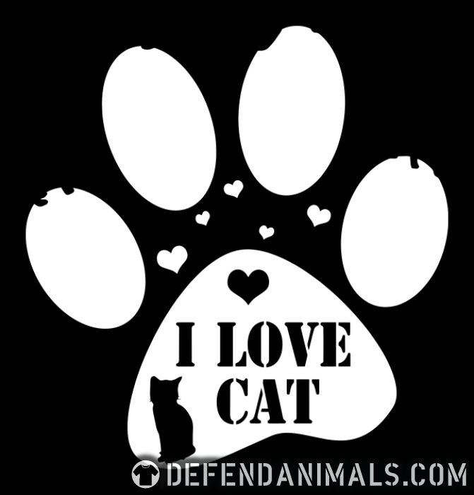 I love cat  - Cats Lovers Tank top