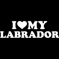 I love my labrador - Dog Breeds T-shirt