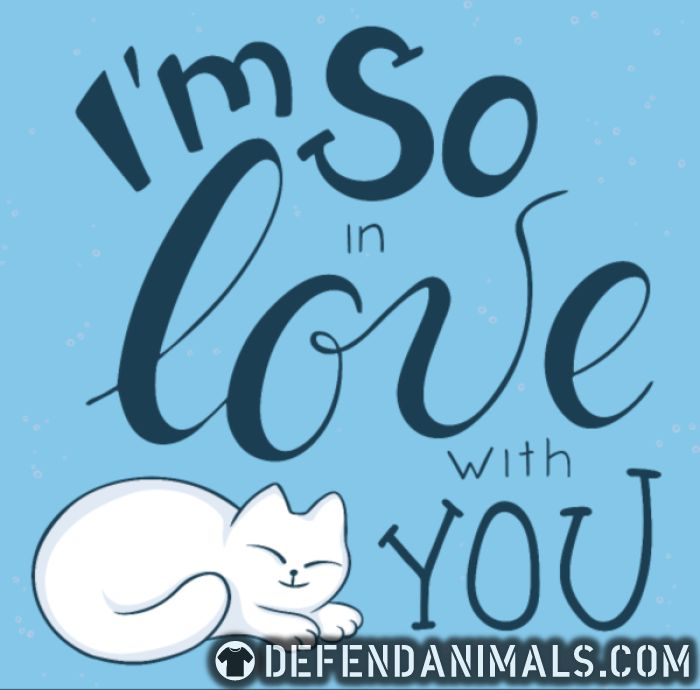 I'm so love with you  - Cats Lovers Women Organic T-shirt