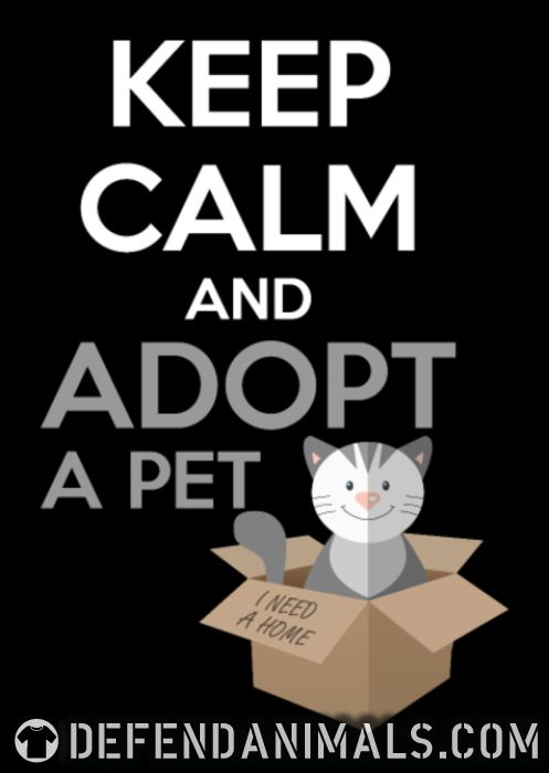 keep calm and apodt a pet  - Cats Lovers Zip hoodie