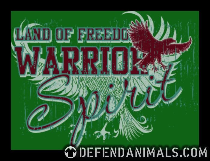 Land of freedom Warrior spirit -