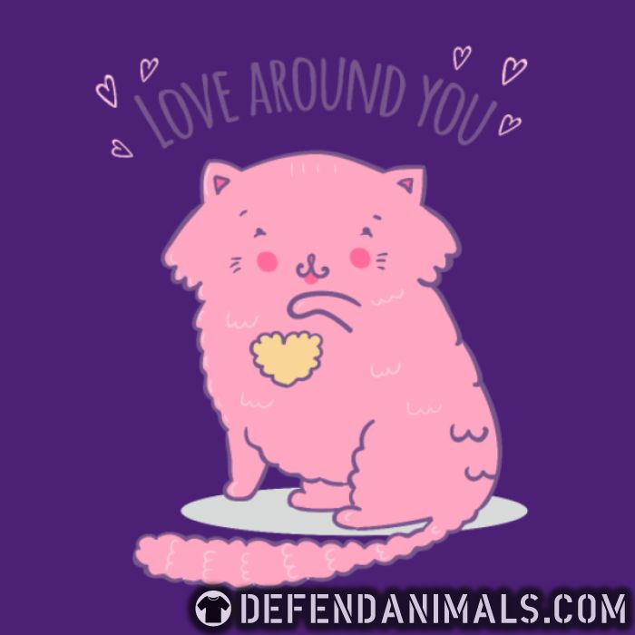 Love around you  - Cats Lovers T-shirt
