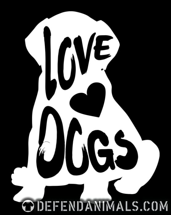 Love dogs - Dogs Lovers Women Organic T-shirt