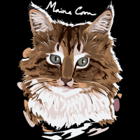 Maine Coon  - Cats Lovers T-shirt