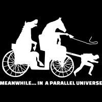 Meanwhile ... in a parallel universe  - Animal Rights Activism T-shirt