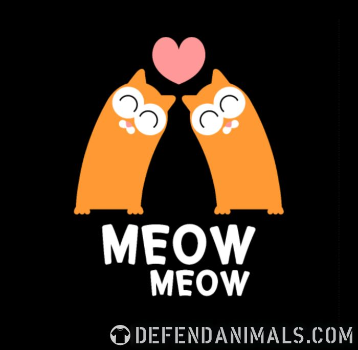 Meow meow - Cats Lovers Kids t-shirt