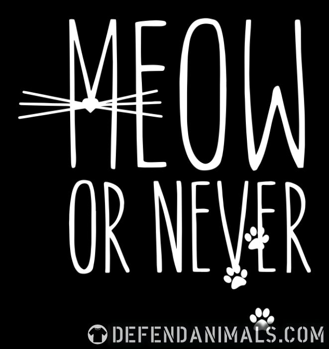 Meow or nerver  - Cats Lovers Women tank tops