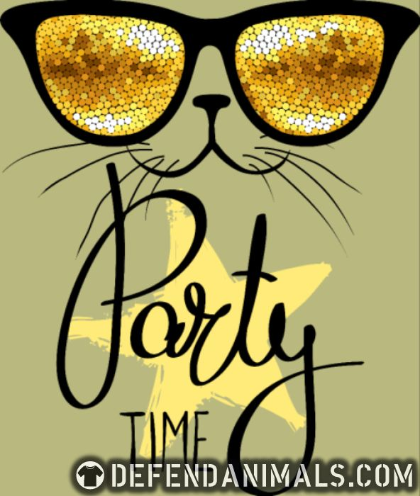 Party time  - Cats Lovers Women Organic T-shirt