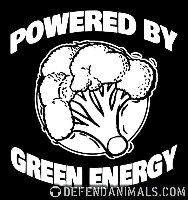 Powered by green energy - Vegan T-shirt