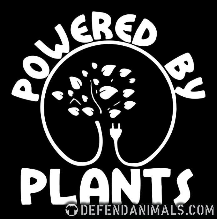 Powered by plants - Vegan Women T-shirt