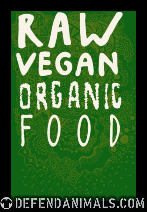 Raw vegan organic food - Vegan Women Organic T-shirt