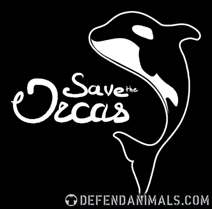 Save the orcas - Animal Rights Activism T-shirt