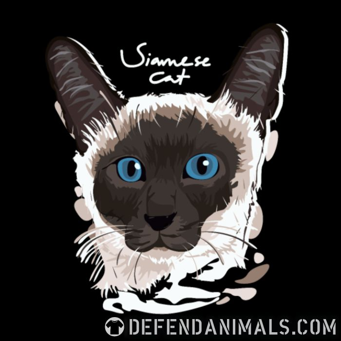 siamese cat - Cats Lovers Women Organic T-shirt