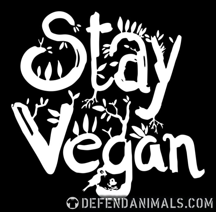 Stay vegan - Vegan Women Organic T-shirt
