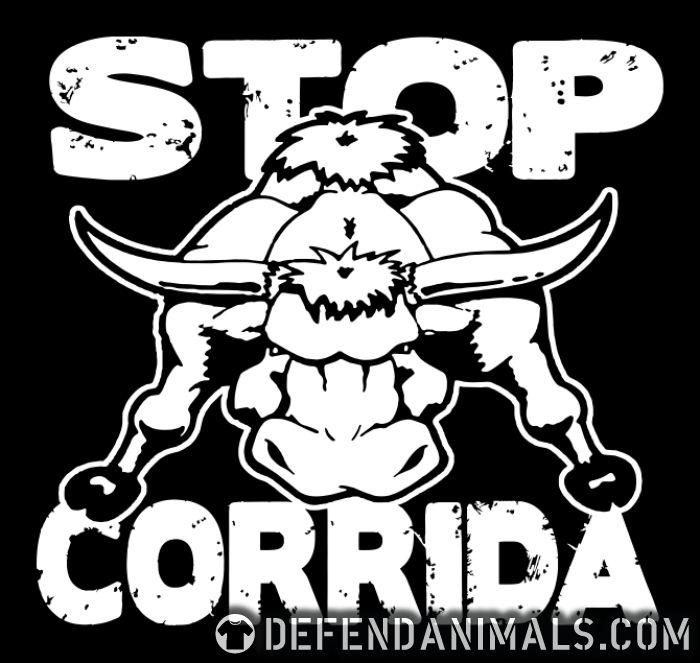 Stop corrida - Animal Rights Activism T-shirt