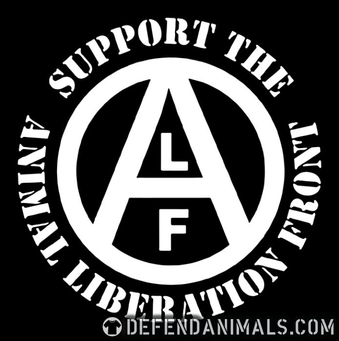 Support animal liberation front  - Animal Rights Activism Long sleeves