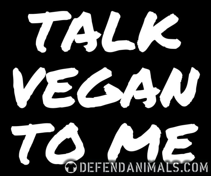 Talk vegan to me - Vegan Women Organic T-shirt