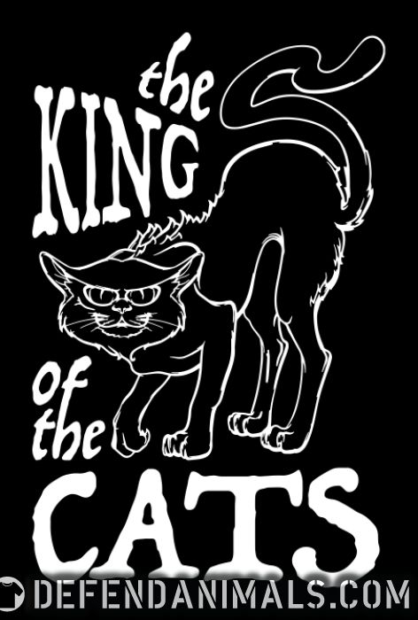 The king of the cats  - Cats Lovers Women Organic T-shirt