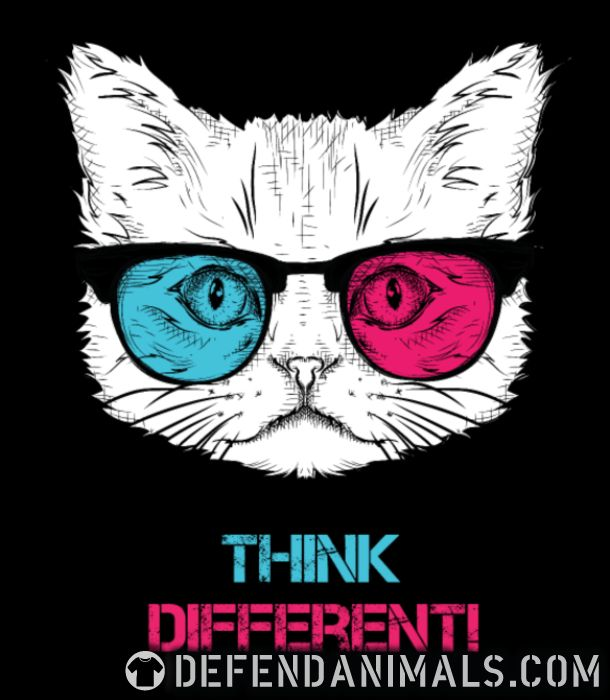 Think differenti - Cats Lovers Women Organic T-shirt