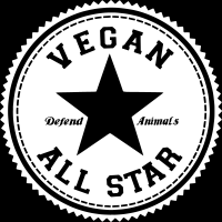 Vegan all star defend animals  - Vegan T-shirt
