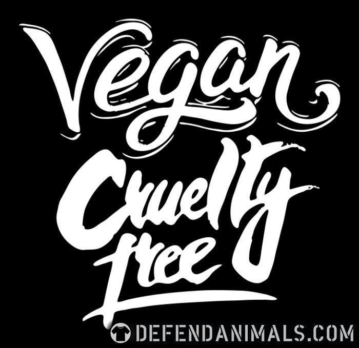 Vegan! Cruelty free - Vegan T-shirt