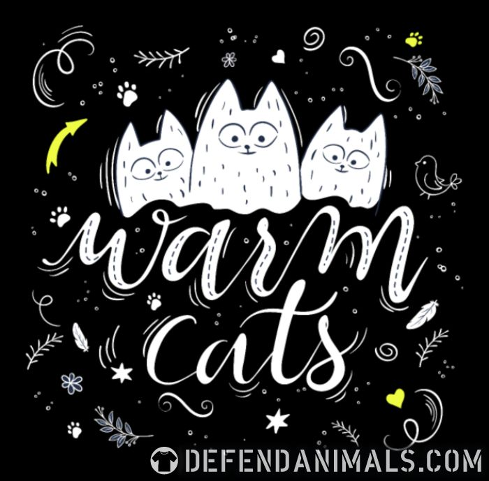 Warm cats  - Cats Lovers Women Organic T-shirt