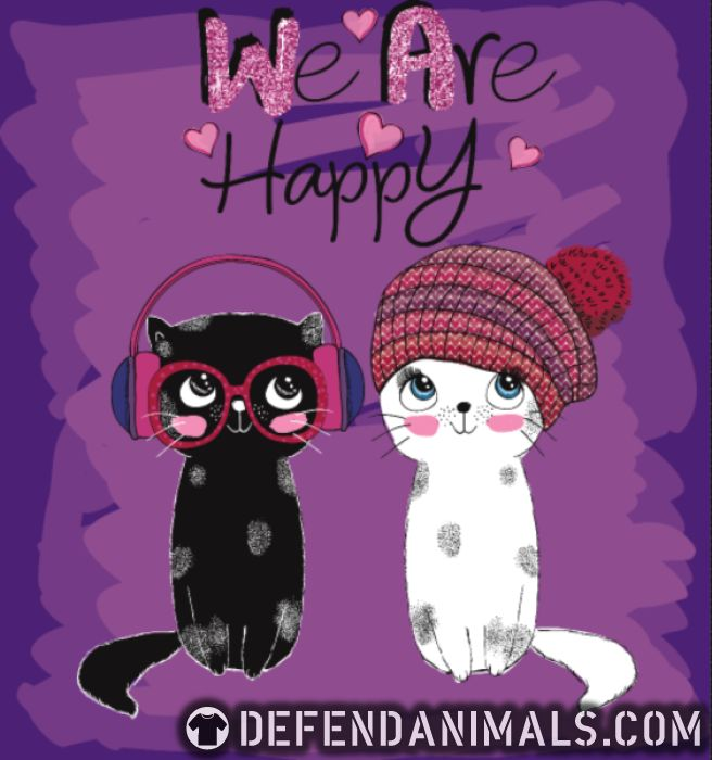 We are happy  - Cats Lovers Women Organic T-shirt
