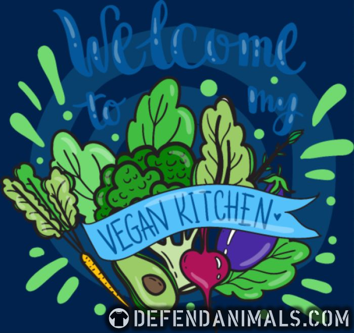 Welcome to my vegan Kitchen  - Vegan Women Organic T-shirt