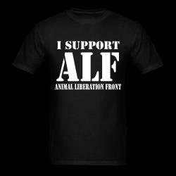 I support Animal liberation front
