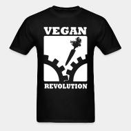 T-shirt Vegan Revolution