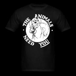 The animals need you