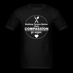 Nothing tastes better tham compassion go vegan