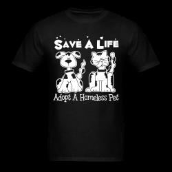 Save a lift adopt a homeless pet