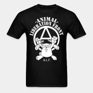 Standard t-shirt (unisex) Animal liberation front