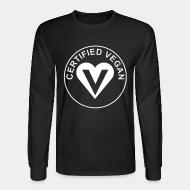 Long sleeves certified vegan