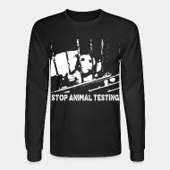 Long sleeves Stop animal testing