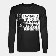 Long sleeves saving a life will change yours adopt !