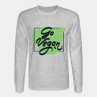 Long sleeves Go vegan