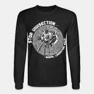 Long sleeves stop vivisection animal liberation now!