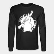 Long sleeves Liberate animals