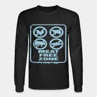 Long sleeves meat free zone