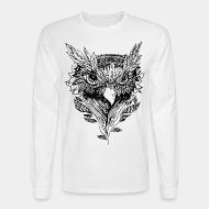 Long sleeves bird face howl