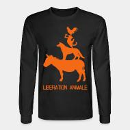 Long sleeves Lib�ration animale