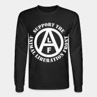Long sleeves Support animal liberation front
