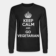 Long sleeves keep calm and go vegetarian