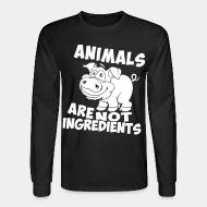 Long sleeves animal are not ingredients