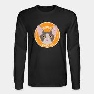 Long sleeves Cornish Rex Cat